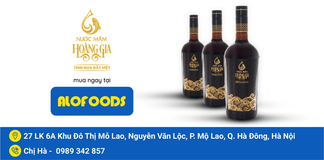 ROYAL FISH SAUCE has been present at Alofoods in Hanoi